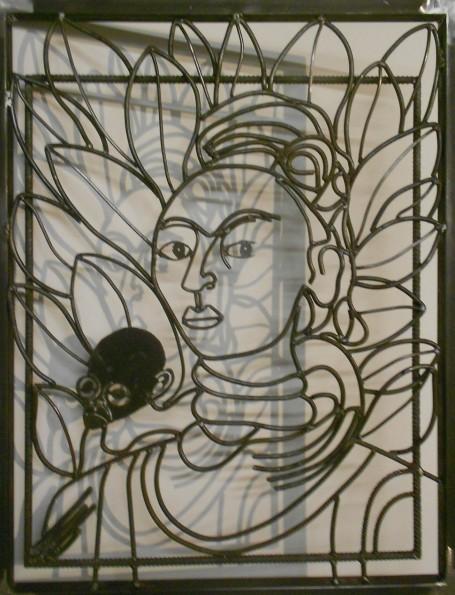 autoportrait au singe Frida b
