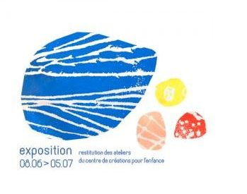Exposition au Centre de Création pour l'Enfance 2018