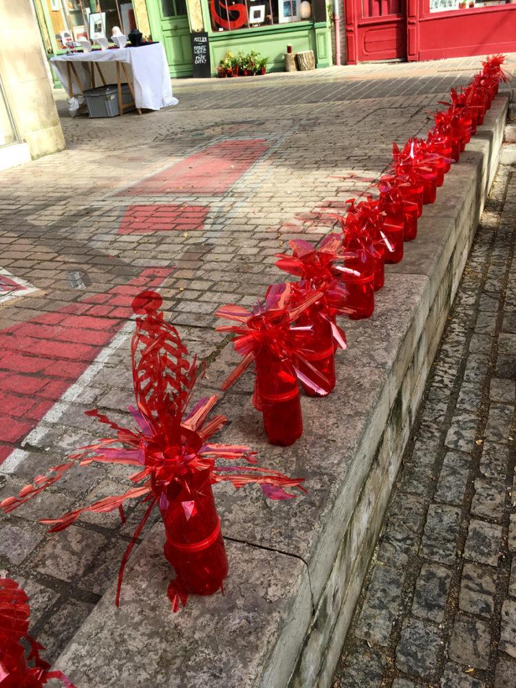 Rouge pour Laon d'art 2018