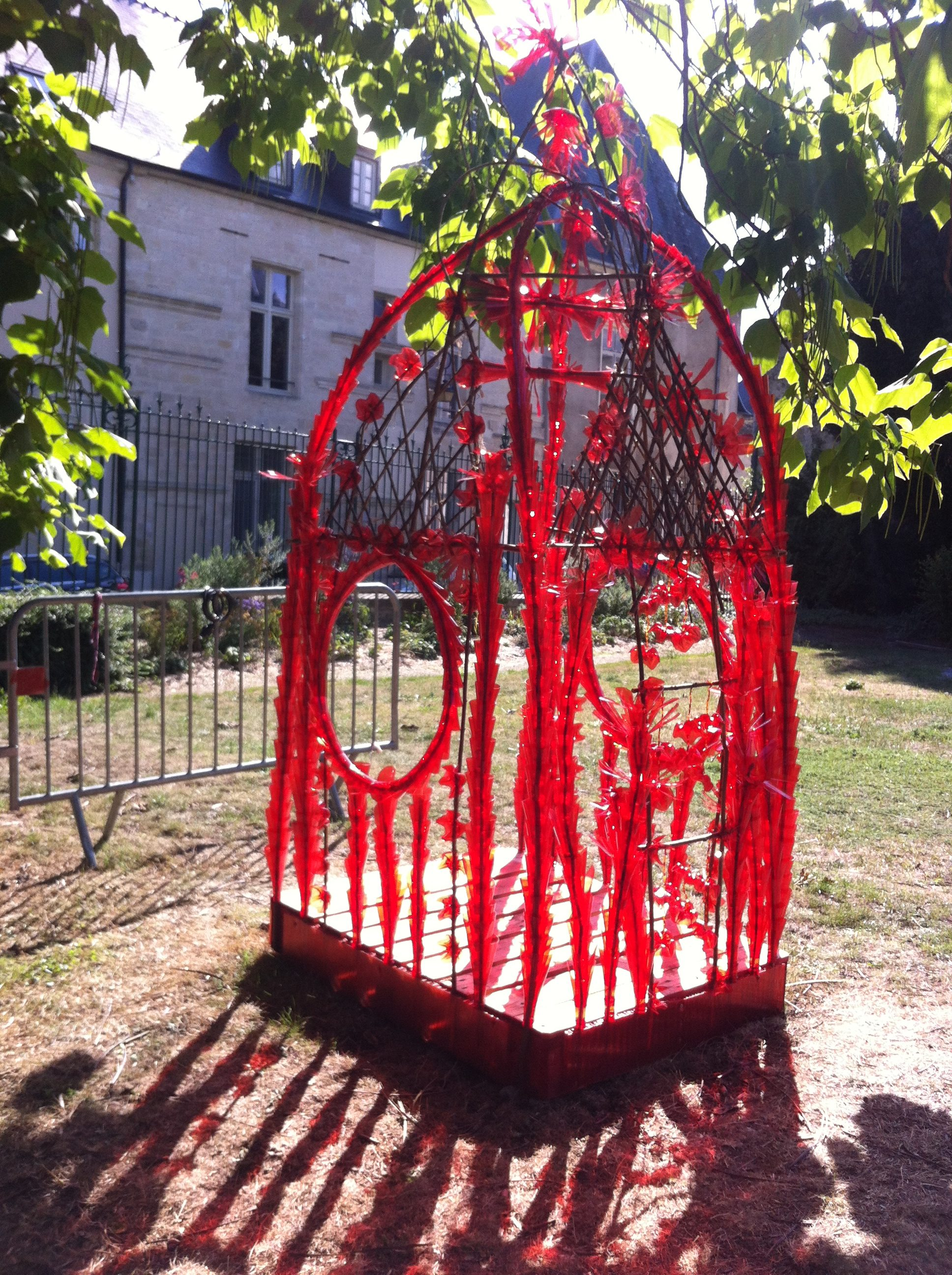Création au Jardin de la Chapelle des Templiers