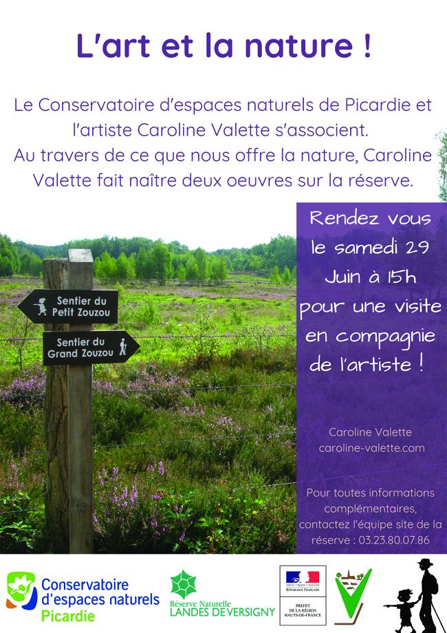 Présentation aux Landes de Versigny