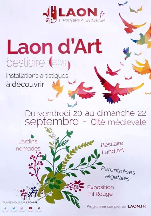 Laon d'art 2019 sur le plateau